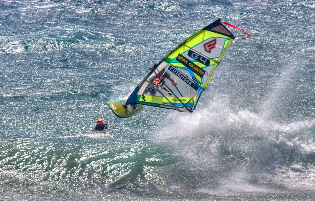 Windsurf y surf